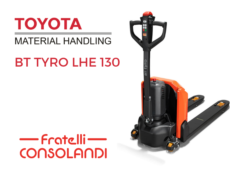 BT Tyro LHE130 di Toyota: scopri il modello